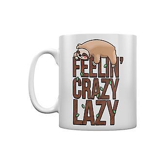 Grindstore Feelin Crazy paresseux paresseux Mug