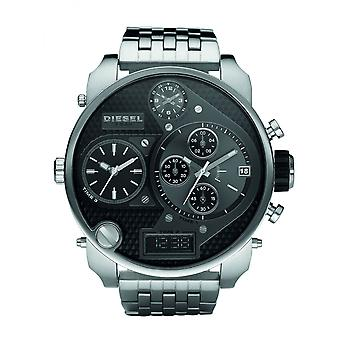 Diesel Silver Big Daddy Watch DZ7221