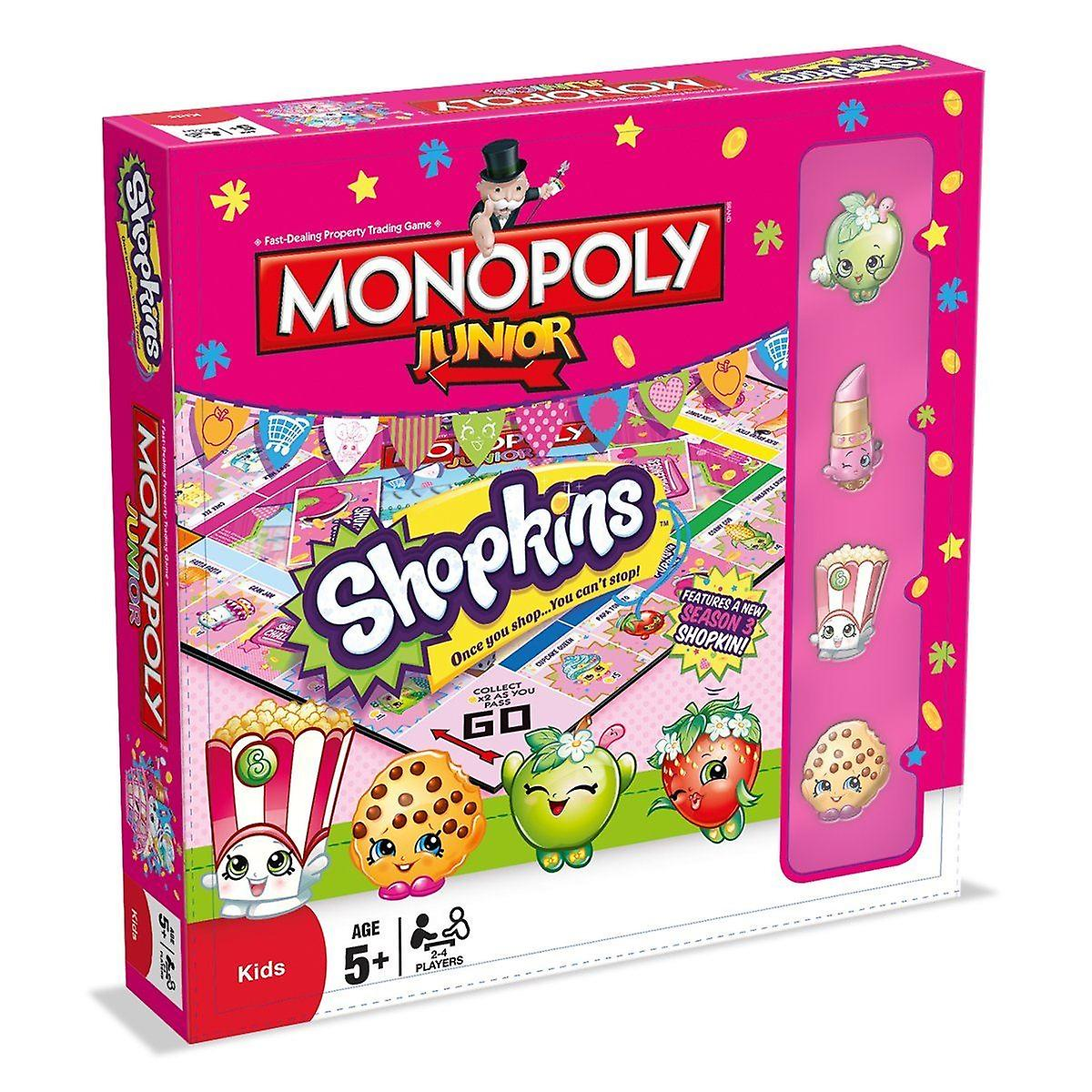 Shopkins Monopoly Junior
