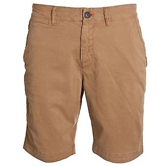 Superdry International Slim Chino Lite Shorts Bronze Khaki