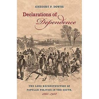 Declarações de dependência: a longa reconstrução da política popular no Sul, 1861-1908