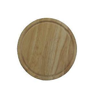 25cm ronde houten brood kaas fruit groente snijden hakken snijplank