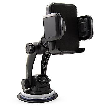 Technocel Universal Car Mount for Small Mobile Devices - Black