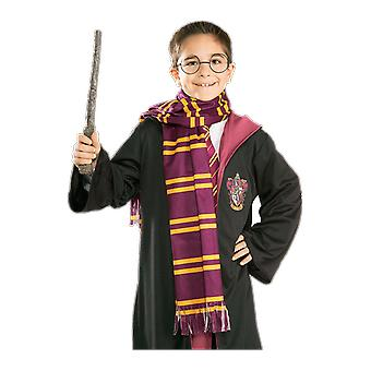 Kids Harry Potter Gryffindor House Scarf Red and Yellow Fancy Dress Accessory