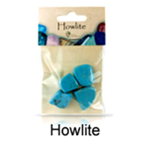 Howlite Stones in Bag
