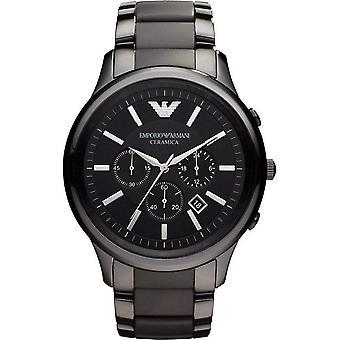 Emporio Armani Men's Ceramic Chronograph Watch AR1451
