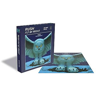 Rocksaws - fly by night - rush 500pc puzzle