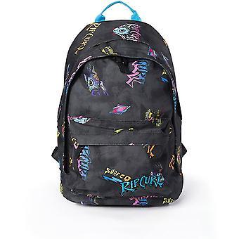 Rip Curl Double Dome Spike Eye Backpack in Black