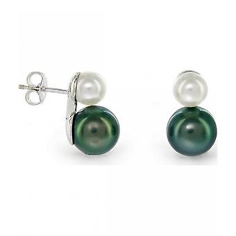 Luna-Pearls Noble TahitiPearl Studs 8840