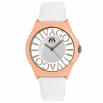 Jivago Women's Fun White Dial Watch - JV8434