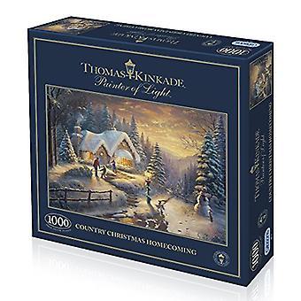 Gibsons Land Weihnachten Homecoming Puzzle, 1000 Stück