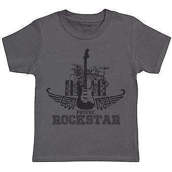 Future Rockstar Kids T-Shirt - Kids Top - Boys T-Shirt - Girls T-Shirt