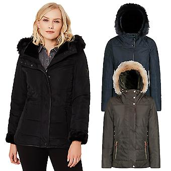 Regatta Womens Winika Fleece Lined Water Repellent Jacket