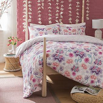 Pieridae Oriental Floral Duvet Cover Quilt Cover Bedding Set