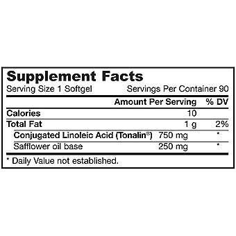 CLA Conjugated Linoleic Acid (90 Softgels) - Jarrow Formulas