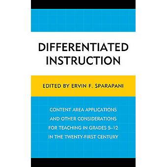 DIFFERENTIATED INSTRUCTIONCONPB by Sparapani & Ervin F.