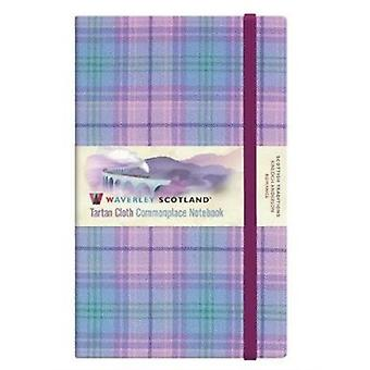 Romance Tartan Large 21 x 13cm Waverley Notebook  Scottish Traditions by From an idea by Ron Grosset