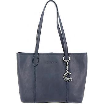 Handtasche tragen Main Leder Vachette Pleine Fleur Semi Aniline Baumwolle Futter