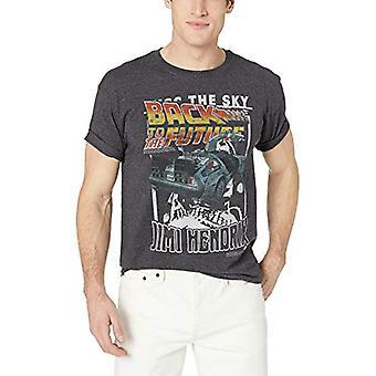 American Classics înapoi la viitorul DeLorean logo, Black Heather, dimensiune mare