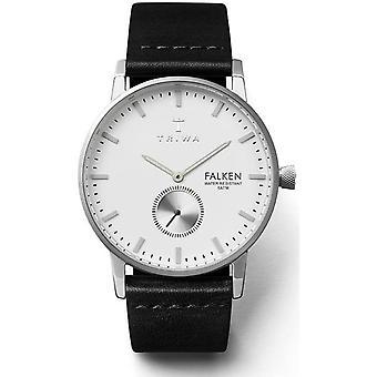 Watch Triwa Ivory Falken FAST103BK - mixed leather black