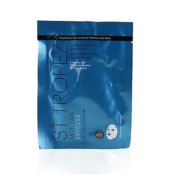 St. Tropez Self Tan Express Bronzing Face Sheet Mask - 1pc