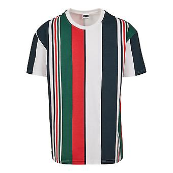 Urban Classics Men's T-Shirt Heavy Oversized Big AOP Stripe
