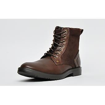 Firetrap Military Boot Dark Brown