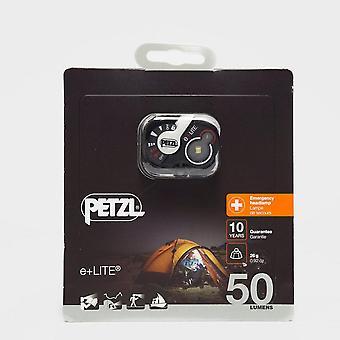 New Petzl E+Lite Headtorch Black