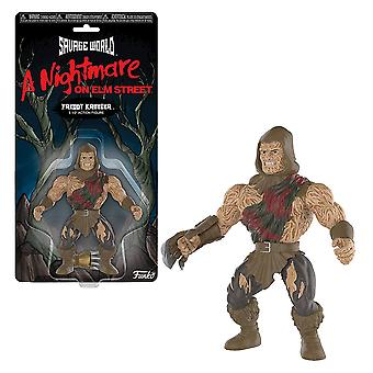 A Nightmare on Elm Street Freddy Krueger Savage World Figure