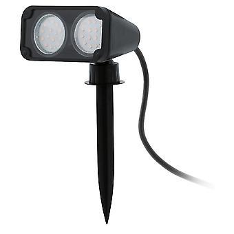 Eglo Nema 1 - LED Utendørs Spike Light Svart IP44 - EG93385
