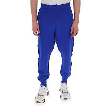 Homme Plissé By Issey Miyake Hp06kf00372 Men's Blue Cotton Pants