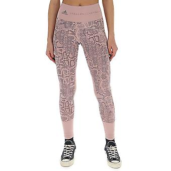 Adidas von Stella Mccartney Fk8942 Damen's Rosa Polyester Leggings
