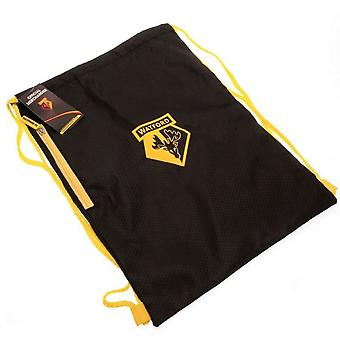 Watford FC Crest Drawstring Gym Bag
