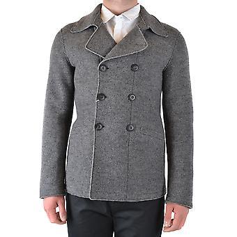 Armani Collezioni Ezbc049133 Hombres's Blazer de Lana Gris