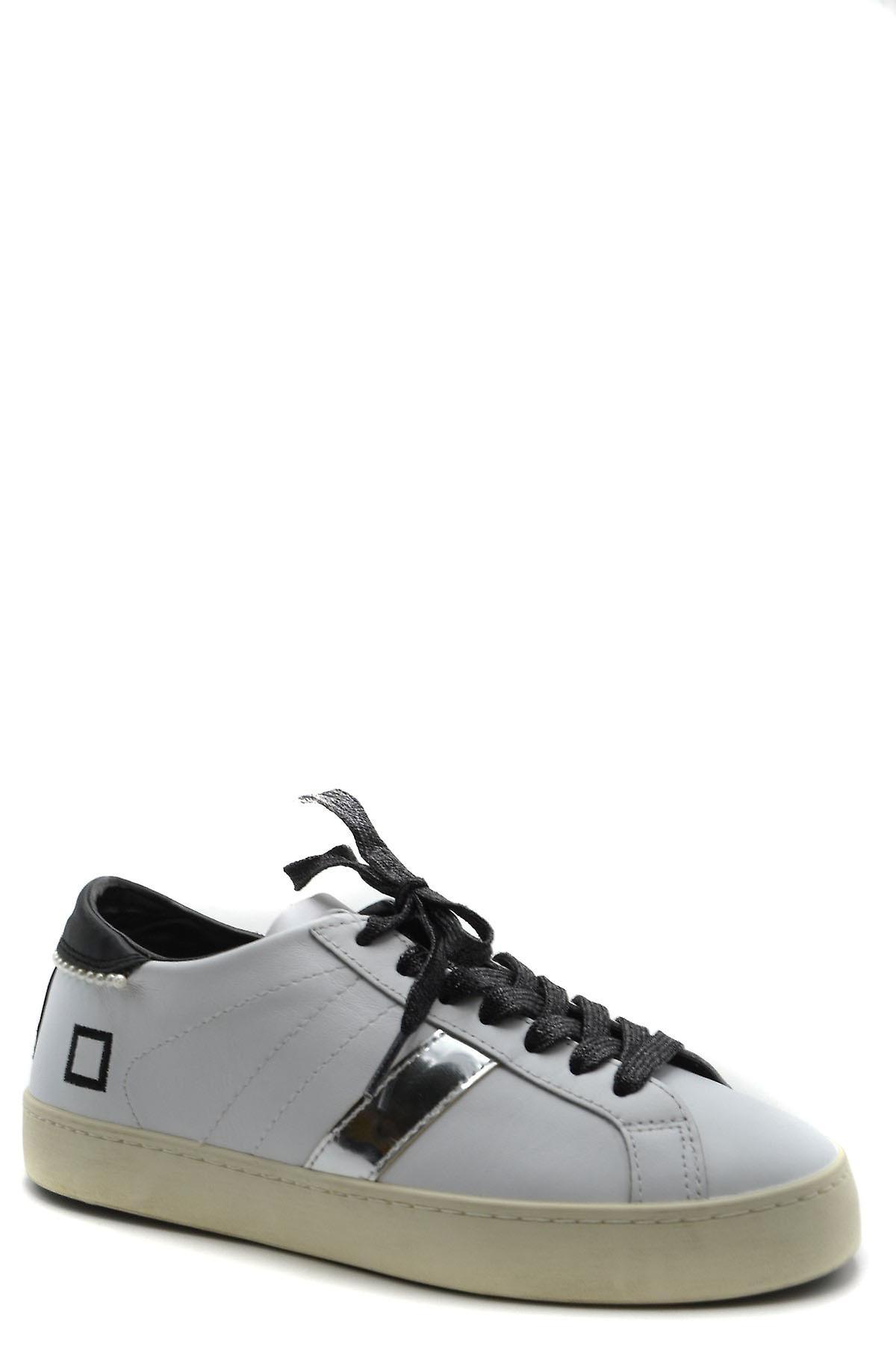 D.a.t.e. Ezbc177023 Women's White Leather Sneakers