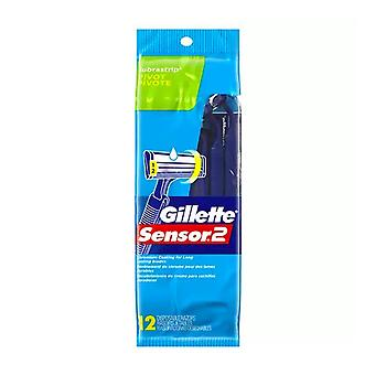 Gillette sensor2 pivot plus disposable razor, 12 ea