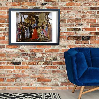 Sandro Botticelli - Adoration of the Magi Poster Print Giclee