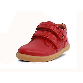 Bobux i-walk port rio red shoes