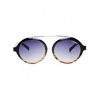 Made in Italia - Accessories - Sunglasses - GALLIPOLI_01-NEROTART - Unisex - black,saddlebrown
