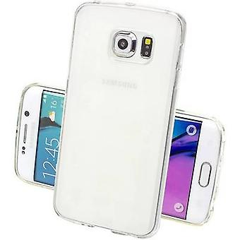 Perlecom Back cover Samsung Galaxy S7 Edge Transparant