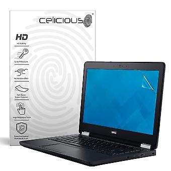 Celicious Vivid Invisible Glossy HD Screen Protector Film Compatible with Dell Latitude 12 E5270 [Pack of 2]