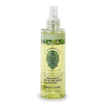 La Florentina Lily of the Valley Body Splash Natural Tuscan Scent 200 ml