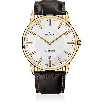 Edox - Wristwatch - Men - Les Bémonts - Ultra Slim - 56001 37J AID