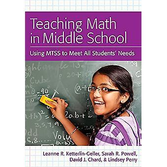 Undervisning Math i Middle School - Använda MTSS för att möta alla studenter & Need