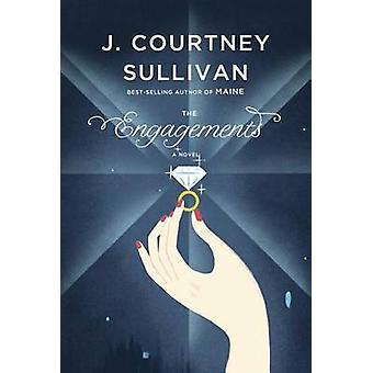 The Engagements (large type edition) by J Courtney Sullivan - 9781594