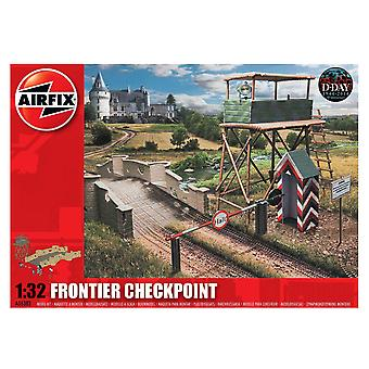 Airfix A06383 1:32 Scale Frontier Checkpoint Malli Kit