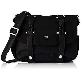 Mila Louise3277GV - Black Woman shoulder bag (BLACK (NOIR 01)) 9x20x23 cm (W x H x L)