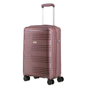travelite Zenit Handbagage Trolley S, 4 Wielen, 55 cm, 36 L, Roze