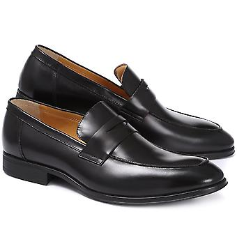Steptronic Mens Frost 2 Leather Penny Loafer