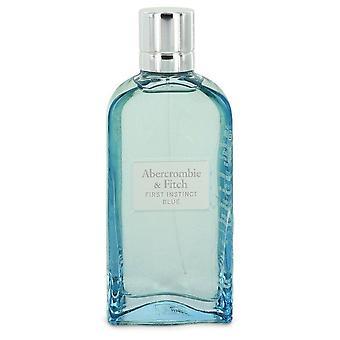 First Instinct Blue Eau De Parfum Spray (Tester) By Abercrombie & Fitch 3.4 oz Eau De Parfum Spray